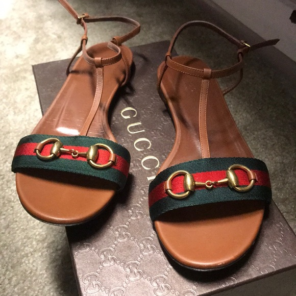 7ca2c90f04 Gucci Shoes | Nylon Horsebit Sandal | Poshmark
